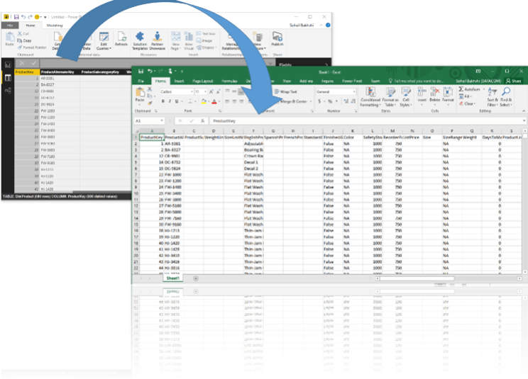 Exporting Data from Power BI Desktop to Excel and CSV – Part 1: Copy