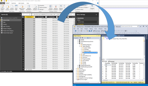 Exporting Power BI Data to SQL Server