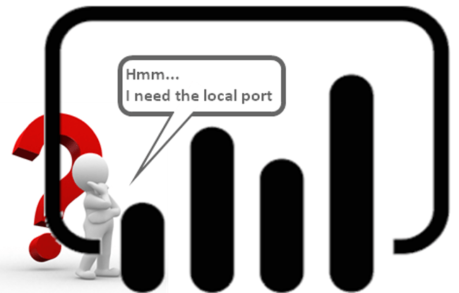 Power BI Desktop Local Port