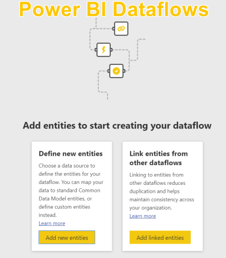 Dataflows in Power BI Service