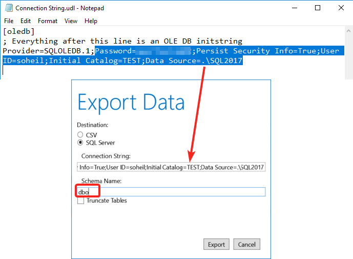 Export Power BI Model Data to SQL Server