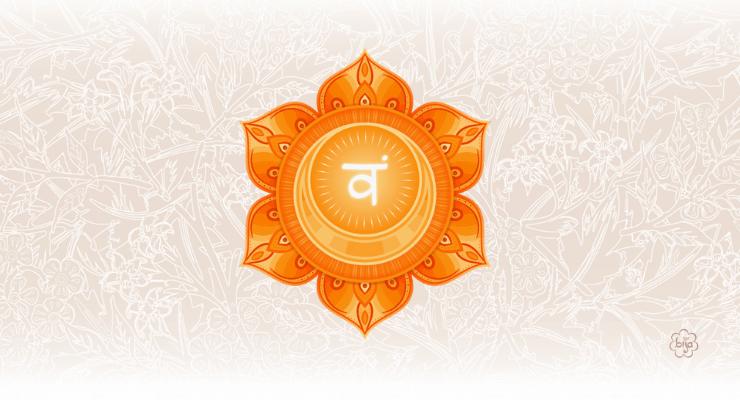 Chakra Svadhistahana o sacrale