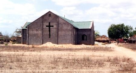 Ik had niet de kans om een foto te maken van de kerk zondag, maar het was zoiets als dit (alleen kleiner).