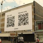 Greenpeace QR code Rotterdam