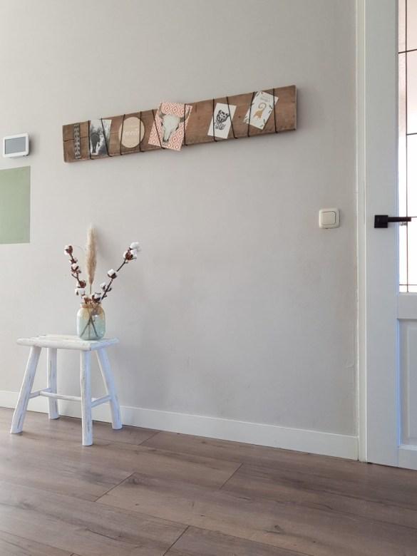 DIY houten fotoplank