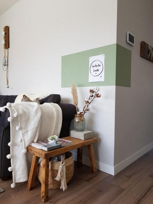 woonkamer make over, kleurvlak