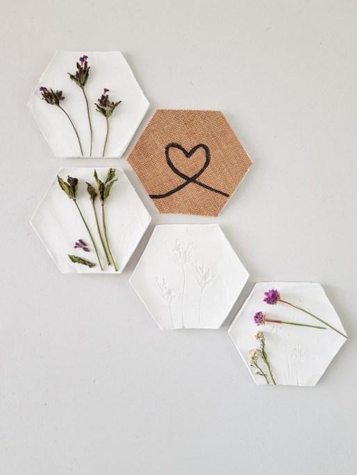 Hoe je prachtige hexagon kunt maken, met een paar materialen