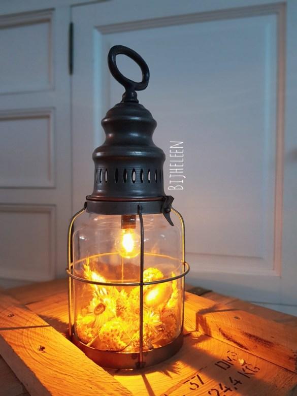 droogbloemen lamp
