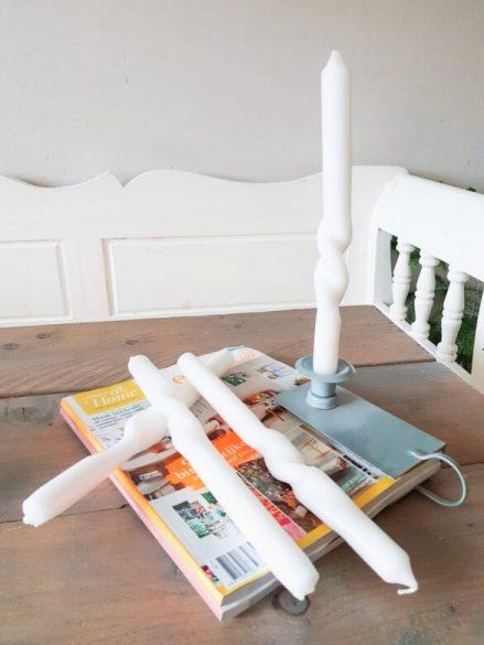 gedraaide kaarsen maken, twisted candles