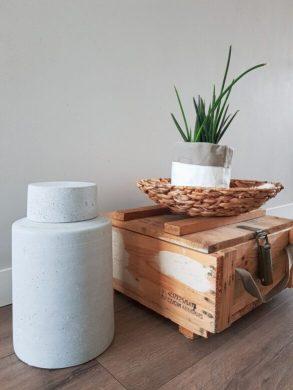 natuurlijke materialen in huis