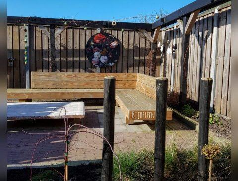 tuin opknappen en huis zelf verbouwen