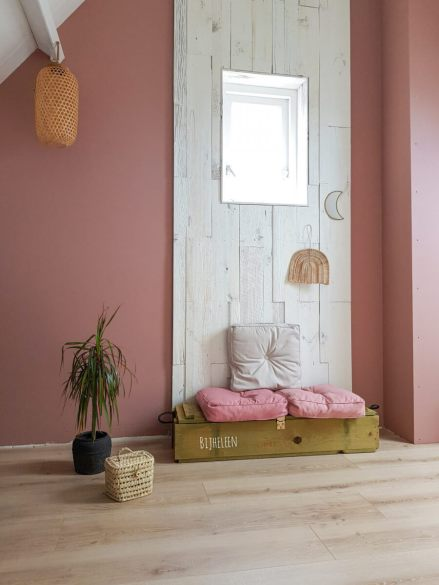 Roze interieur trend