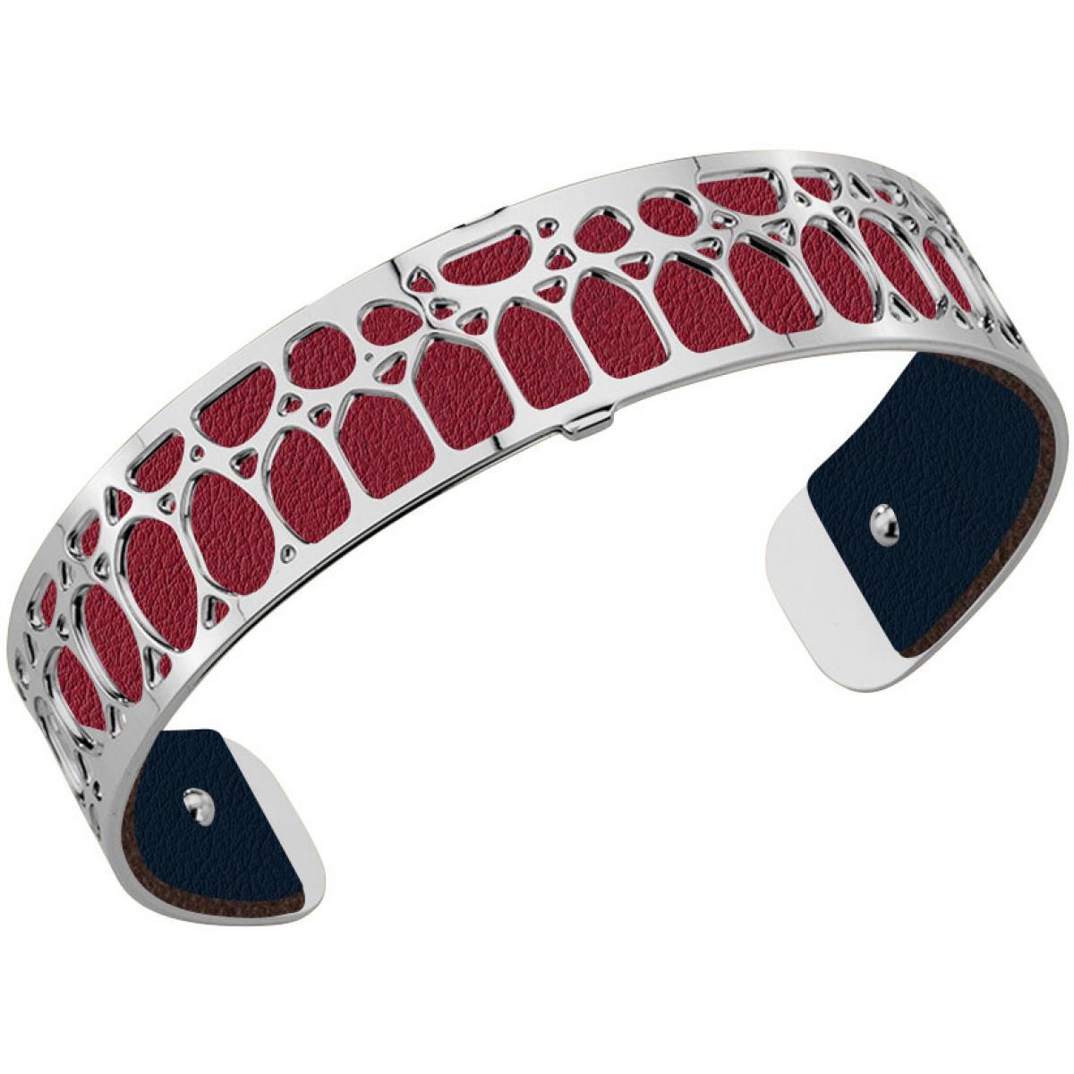 cuir pour bracelet les georgettes cuir bleu petrole framboise cuir pour bracelet reversible interchangeable femme