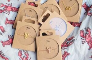 Bijoux 7bis Paris - Set collier et bracelet doré argenté et rosé collection J'en pince pour toi crabe et homard