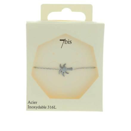370291ARGINX Bracelet Cocotier Argenté Gravé Acier 316l