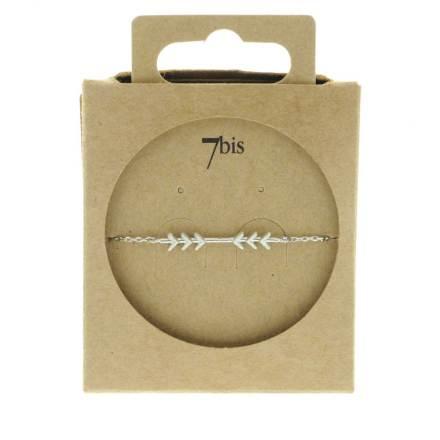 370584ARG Bracelet Flèches Argenté Convergente Indian Spirit