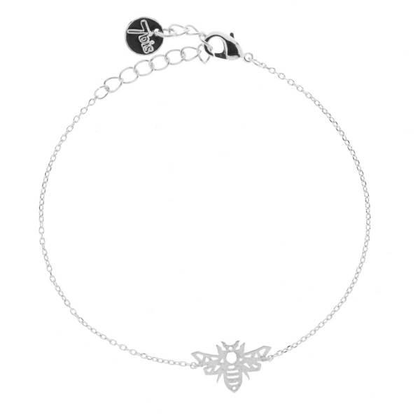 370916ARG Bracelet Abeille Argenté Reperçé Design