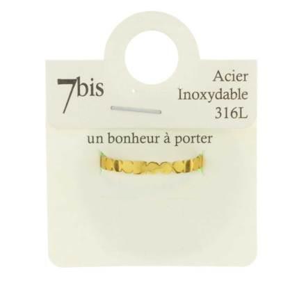 671289DORDORROS Bague Acier Doré Design Inoxydable 316l