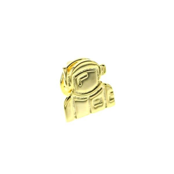 971330DOR Pin's Doré Astronaute Graphique Art