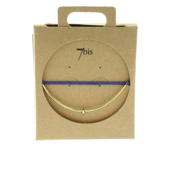 330012A bracelet arc dore vert strass ajustable collection autres 7bis