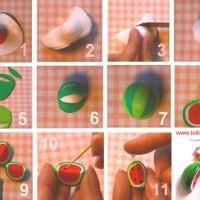 [DIY N°1] La pâte Fimo - fruits et légumes