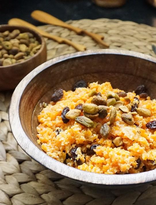 Vegan carrot halwa (a classic Indian dessert)   Bijoux & Bits