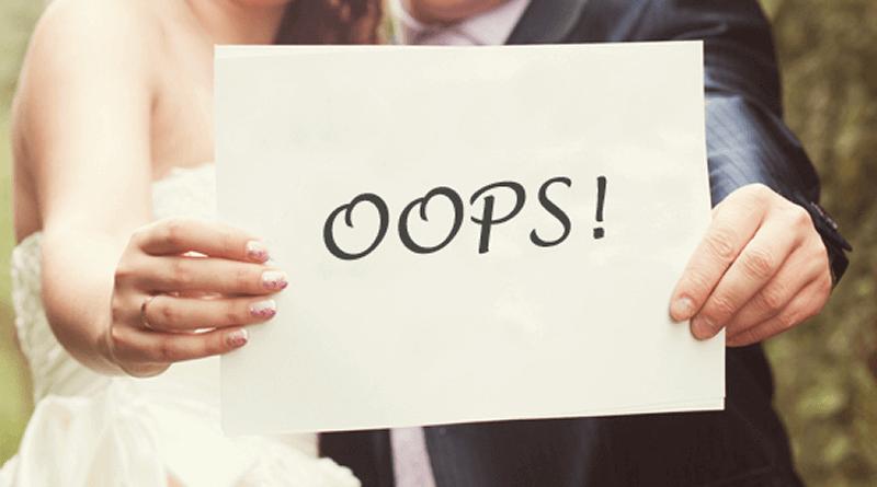 30 erros a evitar antes do casamento