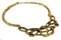 Collier métal doré par cher