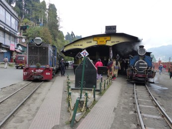The DHR at Ghoom station