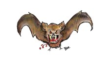 Got blood? Donate freely to the vampire bat