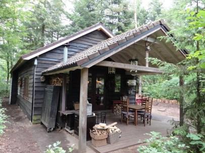 Bijzondere Overnachting Origingeel Overnachten Slapen in de bossen in een boshuisje op de Veluwe2