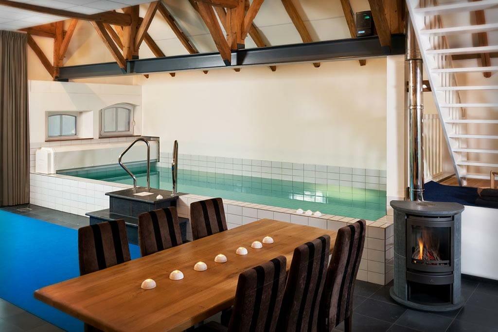 Luxe romantische wellness villa
