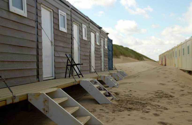 Bijzondere Overnachting Origineel Overnachten Slapen op het strand Castricum aan Zee11