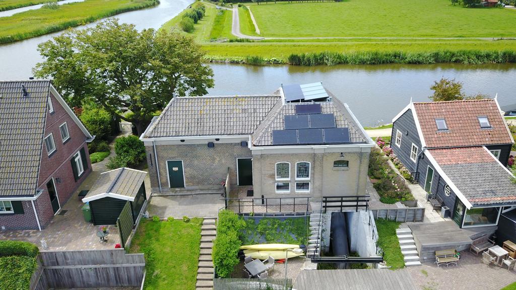 Origineel Overnachten Bijzondere Overnachting Pomphuis van Zouteveen Schipluiden10