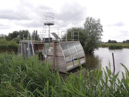 Origineel overnachten in de Biesbosch – Slapen in een Ecolodge op het water