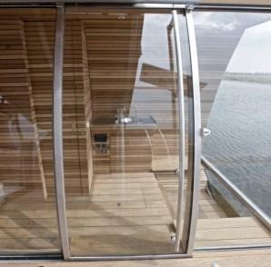 Origineel Overnachten Bijzondere Overnachting Slapen op een ecolodge woonboot in de Biesbosch7