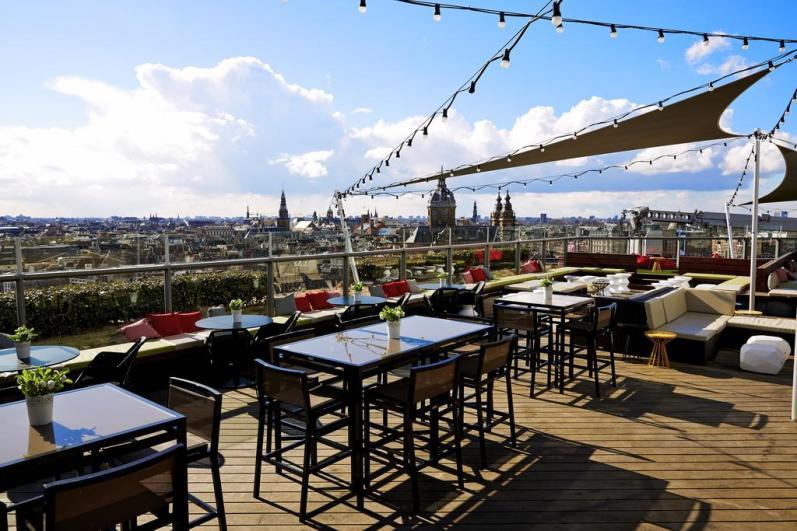 Bijzondere Overnachting Origineel Overnachten Double Tree by Hilton Hotels met prachtig uitzicht over Amsterdam1