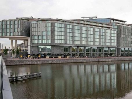 Double Tree by Hilton Hotels met prachtig uitzicht over Amsterdam