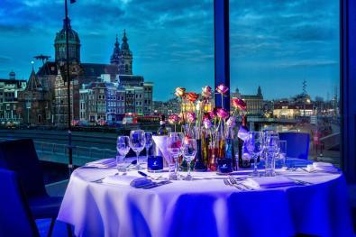 Bijzondere Overnachting Origineel Overnachten Double Tree by Hilton Hotels met prachtig uitzicht over Amsterdam9