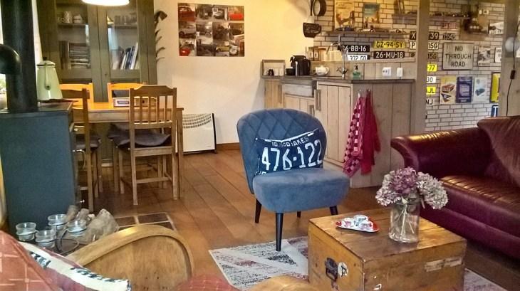 Bijzondere Overnachting Origineel Overnachten Slapen in Bed and Breakfast Garage Inn in het Brabantse Hank13