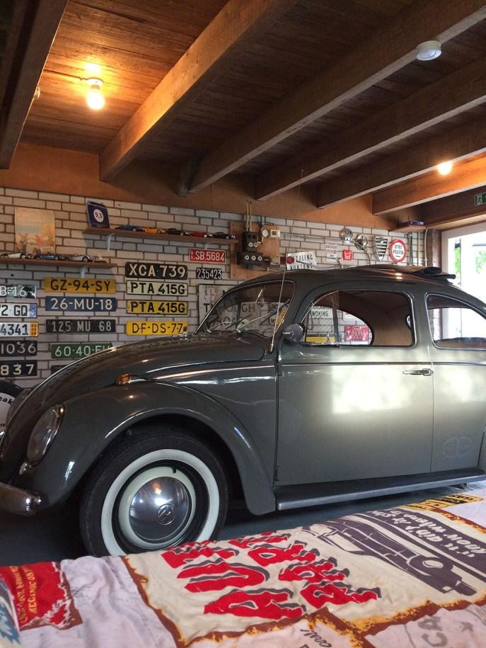 Bijzondere Overnachting Origineel Overnachten Slapen in Bed and Breakfast Garage Inn in het Brabantse Hank4