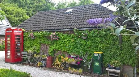 Bijzondere Overnachting Origineel Overnachten Slapen in Bed and Breakfast Garage Inn in het Brabantse Hank8