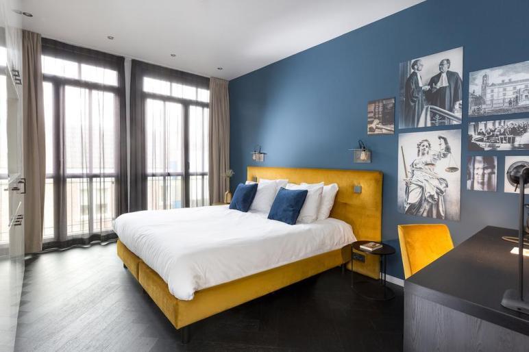 Bijzondere Overnachting Origineel Overnachten Slapen in designhotel in de oude rechtbank van Utrecht2