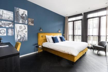Bijzondere Overnachting Origineel Overnachten Slapen in designhotel in de oude rechtbank van Utrecht3