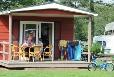 Bijzondere Overnachting Origineel Overnachten Slapen in de natuur in een Woodlodge of Boslodge op Veluwe Camping De Pampel4