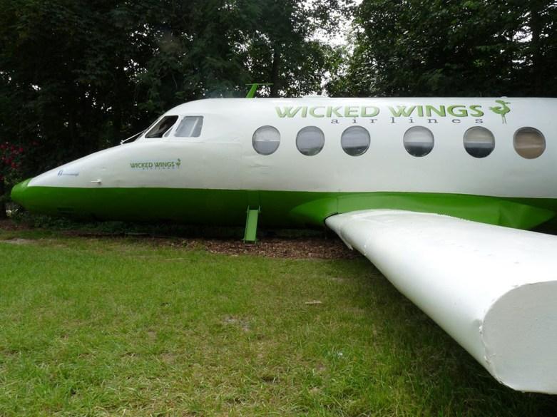 Bijzondere Overnachting Origineel Overnachten Slapen in een vliegtuig Vreemde Vogel Vlaardingen11