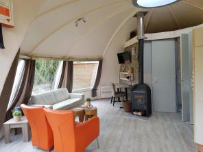 Bijzondere Overnachting Origineel Overnachten slapen in een iglo Nederland3