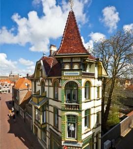 Bijzondere Overnachting Origineel Overnachten Slapen in een mini kasteel in Alkmaar1