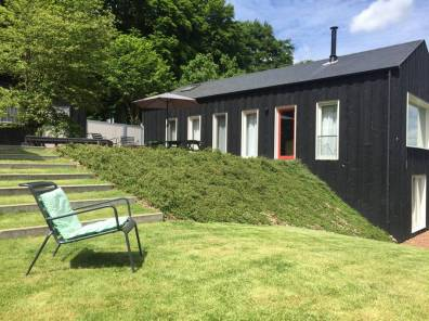 Bijzondere Overnachting Origineel Overnachten huisje met houtkachel en uitzicht Ardennen2