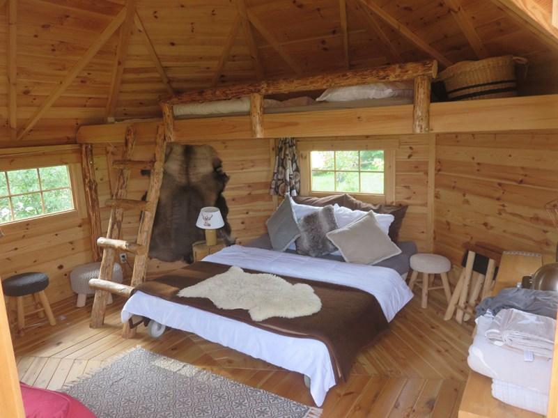 Origineel overnachten in een Finse Kota 7